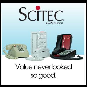 SCITEC Hotel phone collection