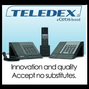 Teledex Hotel Phone Collection